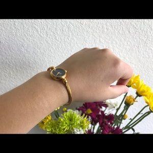 Gucci Accessories - Gucci Vintage 18 K Gold Plated Wrist Watch 2700L